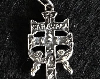 CARAVACA's Cross 3 cm sterling silver 925