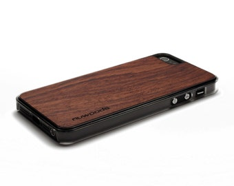 iPhone 5 Case Wood Rosewood, Wood iPhone SE Case, iPhone 5S Case Wood