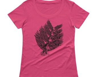 Eagle, trails, bald eagle,Ladies tee, Heart, Nature, Girlfriend gift,Rock Tshirt, Best selling items, Womens t-shirt, tee,animal,earth