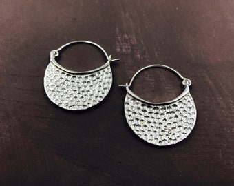 Embossed Earrings