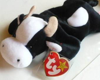 Soft Kids Toy, Baby Shower Gift, Cow, Stuffed Animal, Plush Toy, Beanie Babies, Baby Gift, Farm Animal