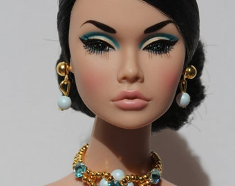 """Doll jewelry set for Fashion Royalty, Poppy Parker, Barbie and similar 12"""" dolls"""