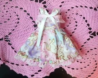 Pastel Unicorn Skies Lolita Dress for YOSD BJD