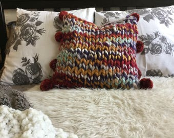 ChunkyKnit Pillow~ The Swirly Pop