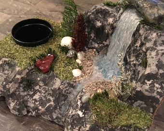 Handmade Waterfall Landscape Sculpture