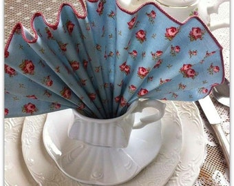 Napkins-cloth-tea party-luncheon