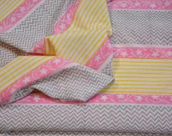 Cotton Multi Color Block Print Fabric