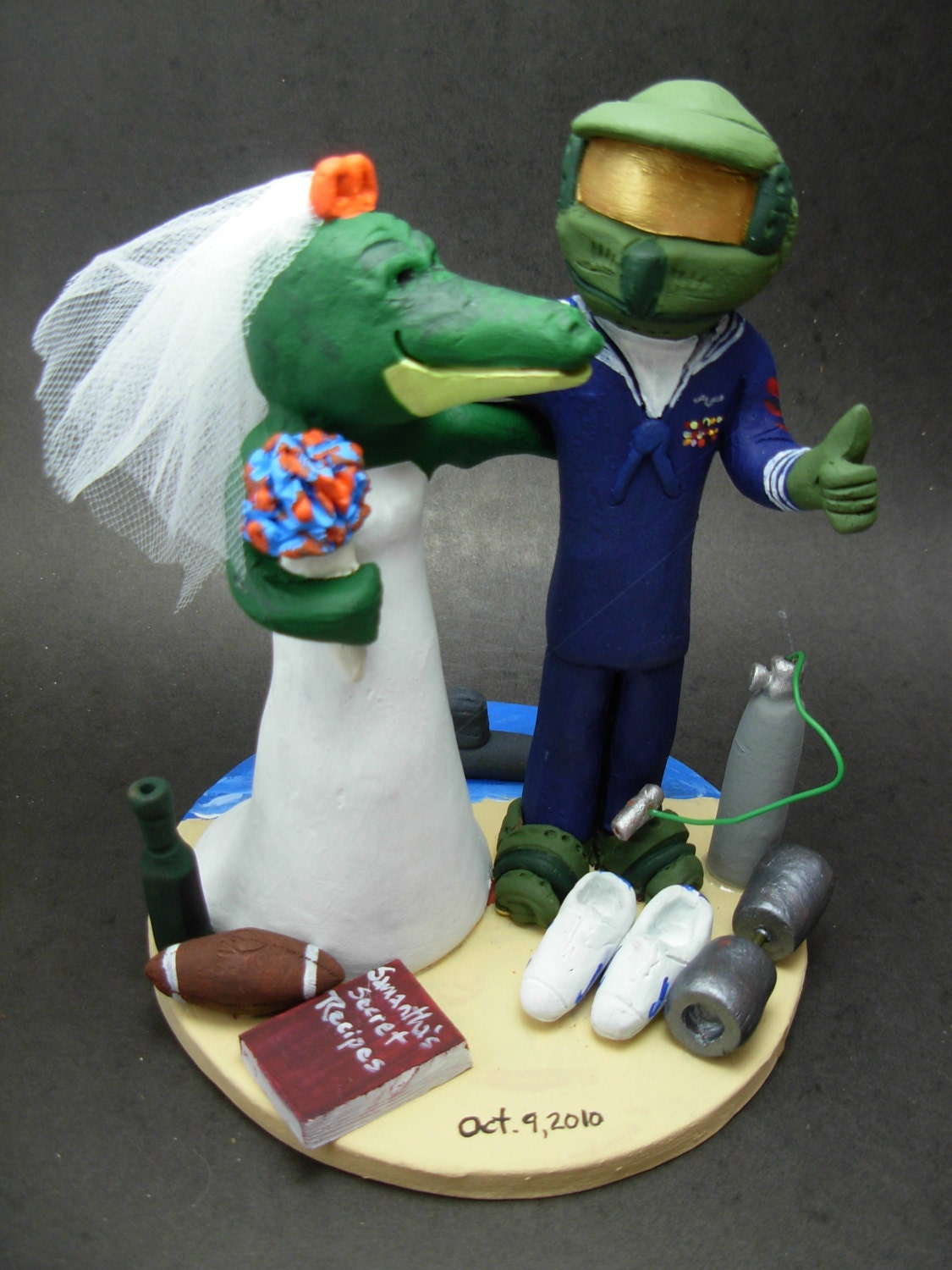 Master Chief Wedding Cake Topper