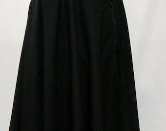 Medieval Cloak,Gabardine fabric cloak,Halloween Cloak,Cosplay Cloak,Full circle cloak,black cloak, hooded cloak, cloak with hood@sohoskirts
