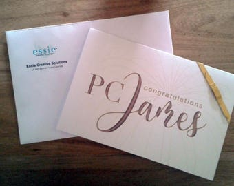 Congratulatory Personalized Card