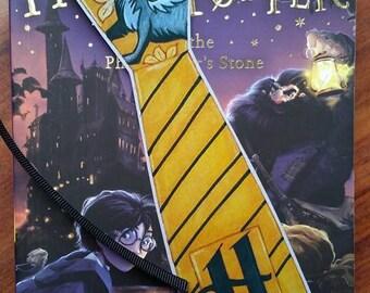 Set 2 Harry Potter Hufflepuff House Handmade Bookmarks