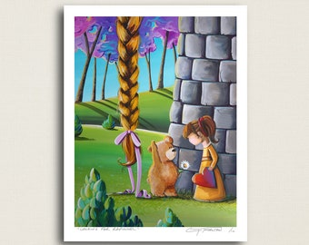 Looking For Rapunzel - caught in a fairy tale - Limited Edition Signed 8x10 Semi Gloss Print (3/10)