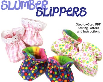 Pixie Faire Doll Tag Clothing Slumber Slippers Doll Clothes Pattern for 18 inch American Girl Dolls - PDF