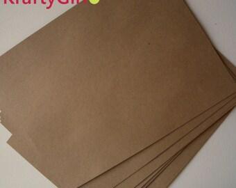 Lunch Bag Kraft Cardstock - 10 sheets