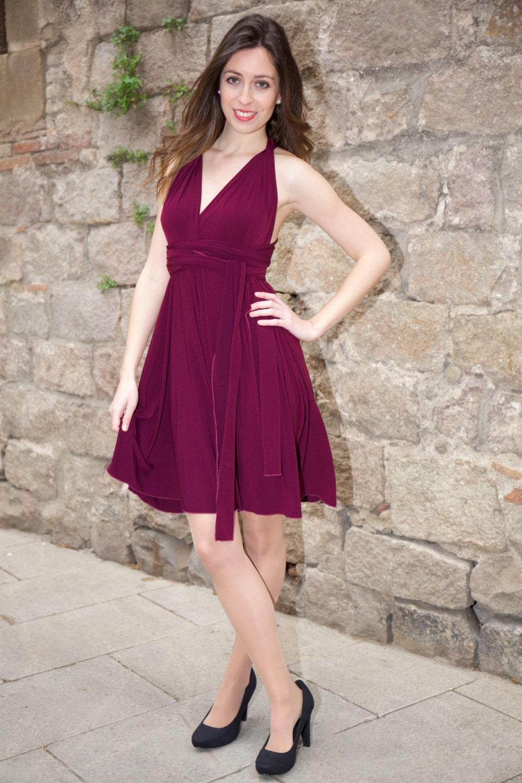 Lujoso Etsy Vestido De Dama Convertibles Ideas Ornamento Elaboración ...