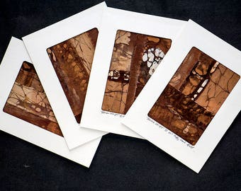 Set of 4 Note Cards