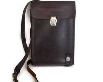 Soviet Army Officer Bag Messenger Bag Tablet bag Soviet Officer Military Bag Vintage Leather Shoulder Bag Commander Map Bag Made in USSR