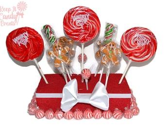 Gingerbread Man Theme Centerpiece, Christmas Centerpiece, Candy Centerpiece, Gingerbread Man Theme, Christmas Wedding Decor