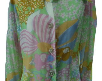 1970s Lady Arrow Blouse/Shirt, Lady Arrow Shirt, 1970s Shirt, 1970s Blouse, 1970s Top, 1970s Top, Vintage Top, 1970, 1970s, Top, Shirt