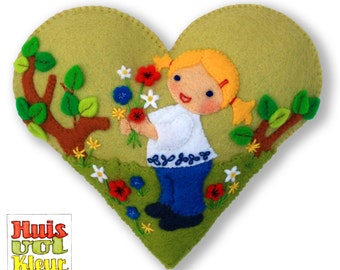 The Heart Of Picking Flowers