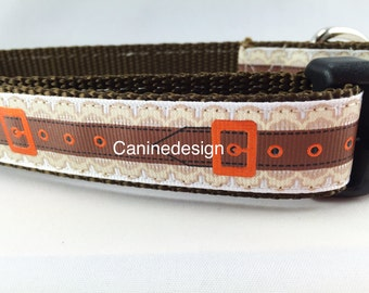 Dog Collar, Belt, 1 inch wide, adjustable, quick release, metal buckle, chain, martingale, hybrid, nylon