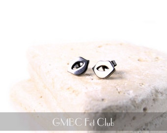 Little Kisses Stud Earrings - Stainless Steel