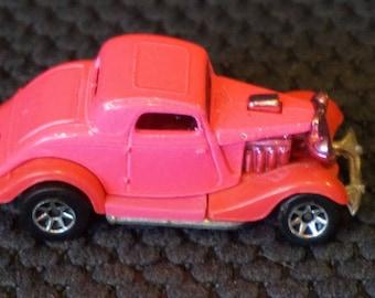 Vintage 1979 Hot Pink Hot Rod Hot Wheels Car  32 Deuce   Hot Wheels Car  Collectable Hot Wheels Car