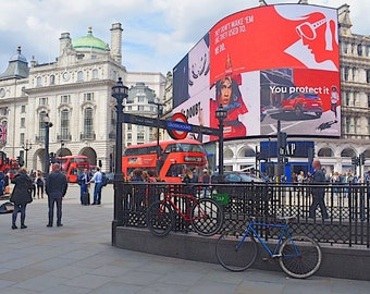 London and Piccadilly Circus