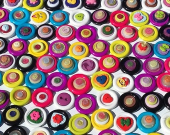 Polyester Button Magnets
