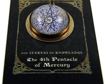 The 4th Pentacle of Mercury -- A Talisman for Seekers of Knowledge