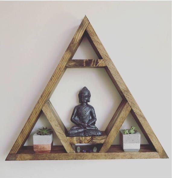 Altar Shelf THE ORIGINAL DESIGNER Chcakra Triangle Shelf