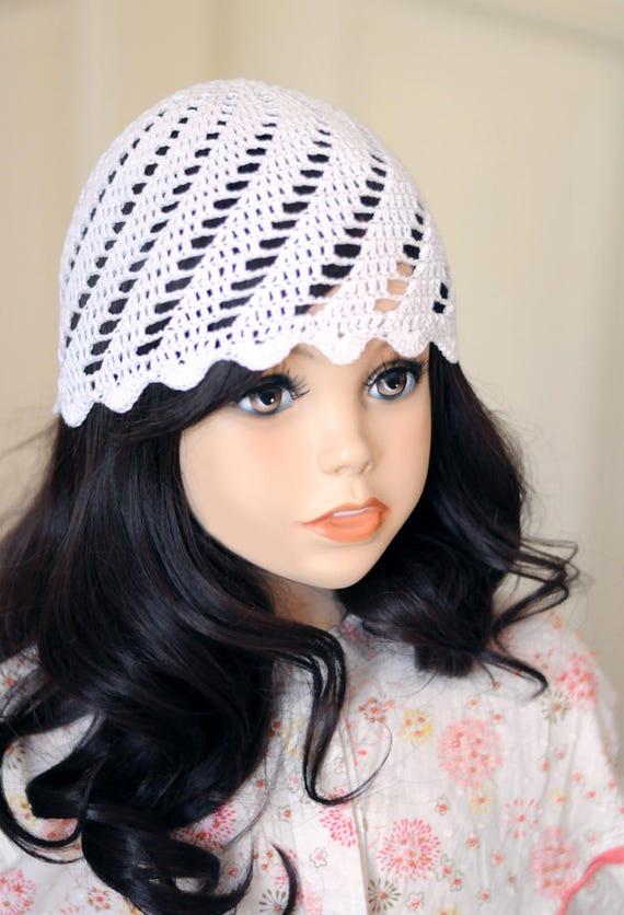 Girl Crochet Hat Pattern Toddler Crochet Beanie Hat Summer Hat