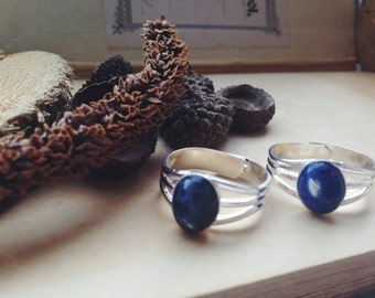 Sodalite Silver Plated Ring
