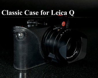 LEICA Q Hand made leather case