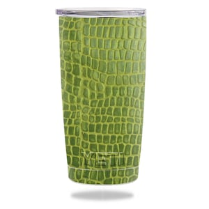 Skin Decal Wrap for YETI RTIC OZARK Trail 20oz Rambler Tumbler sticker skins Croc Skin