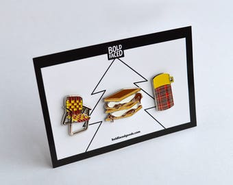 The Great Outdoors Pin Set of 3