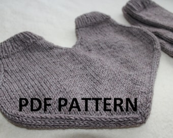 Knitting PDF pattern, Knit lovers glove, lovers glove pattern, pdf glove pattern, glove for two, gift for couple