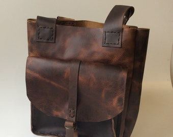 Leather Tote Bag,Distressed Leather Large And durable Leather Bag for Women
