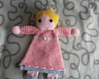 "Crochet rag doll ""Princess"""