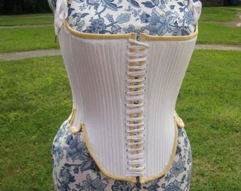 Copy of Effigy Bodies Elizabethan corset  from 1603