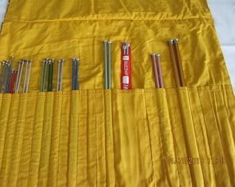 13 Pairs of Knitting Needles