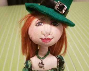 Handmade Cloth Doll - Chloe