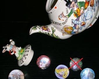 7 rings adjustable Alice in wonderland