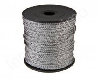 Thread polyester 1.5 mm - color gray