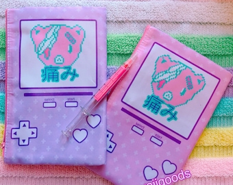 Hurt Bear Game Yami Kawaii Cosmetic Pouch