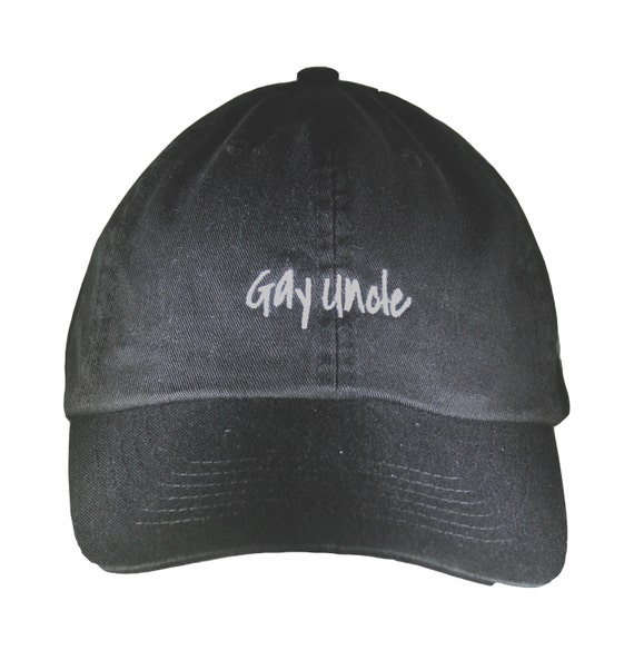 Gay Uncle (Polo Style Ball Black with White Stitching)