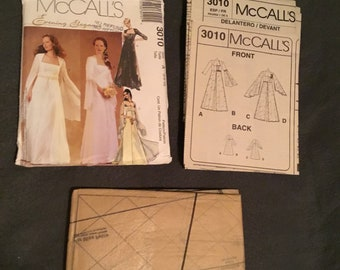 McCalls Bridal Gown, Bridesmaid gown 3010