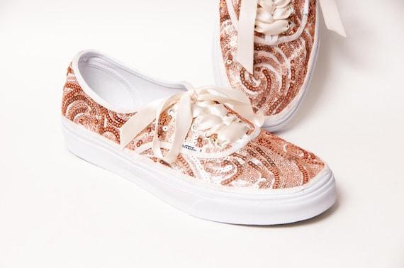 vans rose gold