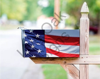 American Flag Mailbox Cover - Free Shipping