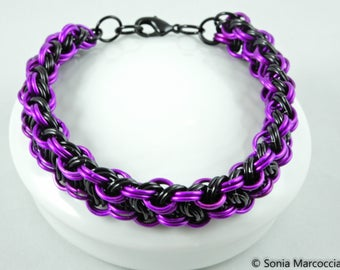 Bold Chunky Chainmaille Bracelet
